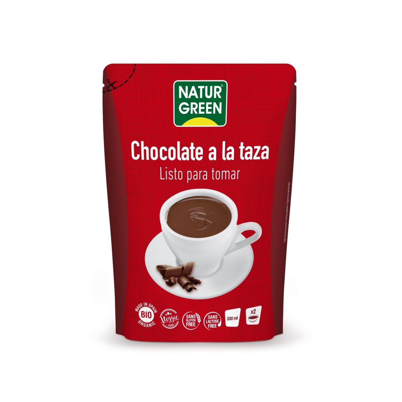 Chocolate a la taza sin gluten veggie